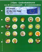 Feuille Premium pour 2€ commémoratives 2015 Safe