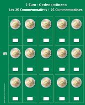 Feuilles (2) Premium pour 5 séries d\'Euros Safe