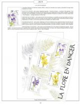 Feuilles France 2019 pour Timbres AV Editions