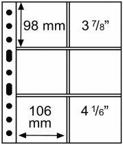 Feuilles Grande pour Sous Bock 98x106mm Leuchtturm