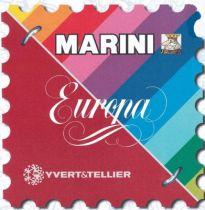 Feuilles MARINI Italie 2015 pour timbres YVERT