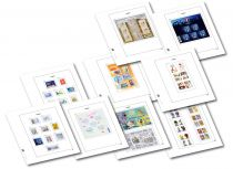 Feuilles Standard Luxe France 2016/1er Semestre pour Timbres DAVO