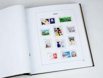 Feuilles timbres France 2018 avec pochettes DAVO  pour Timbres DAVO