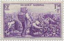 France Année complète 1940 - 451/469 NSC**