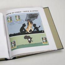 Jeu Luxe Belgique <<Tintin>> 2001