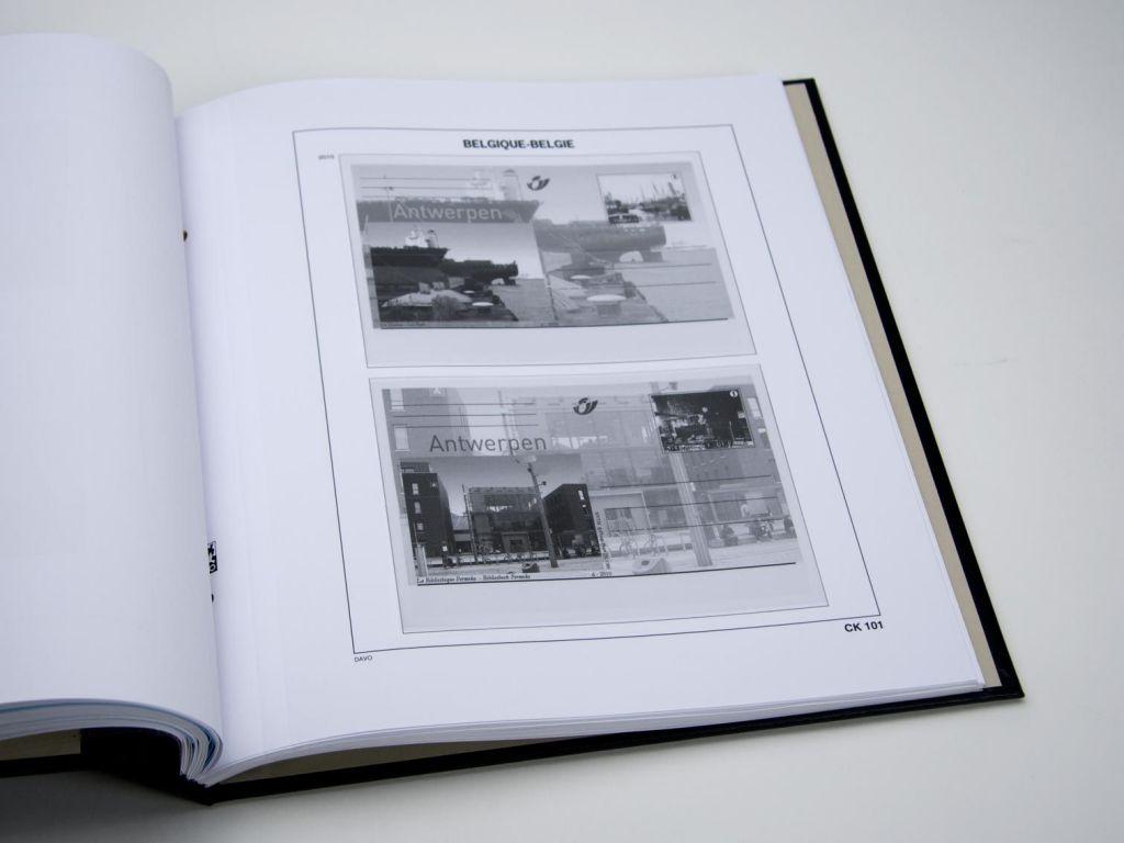 Jeu Luxe Belgique Cartes Postales 2010