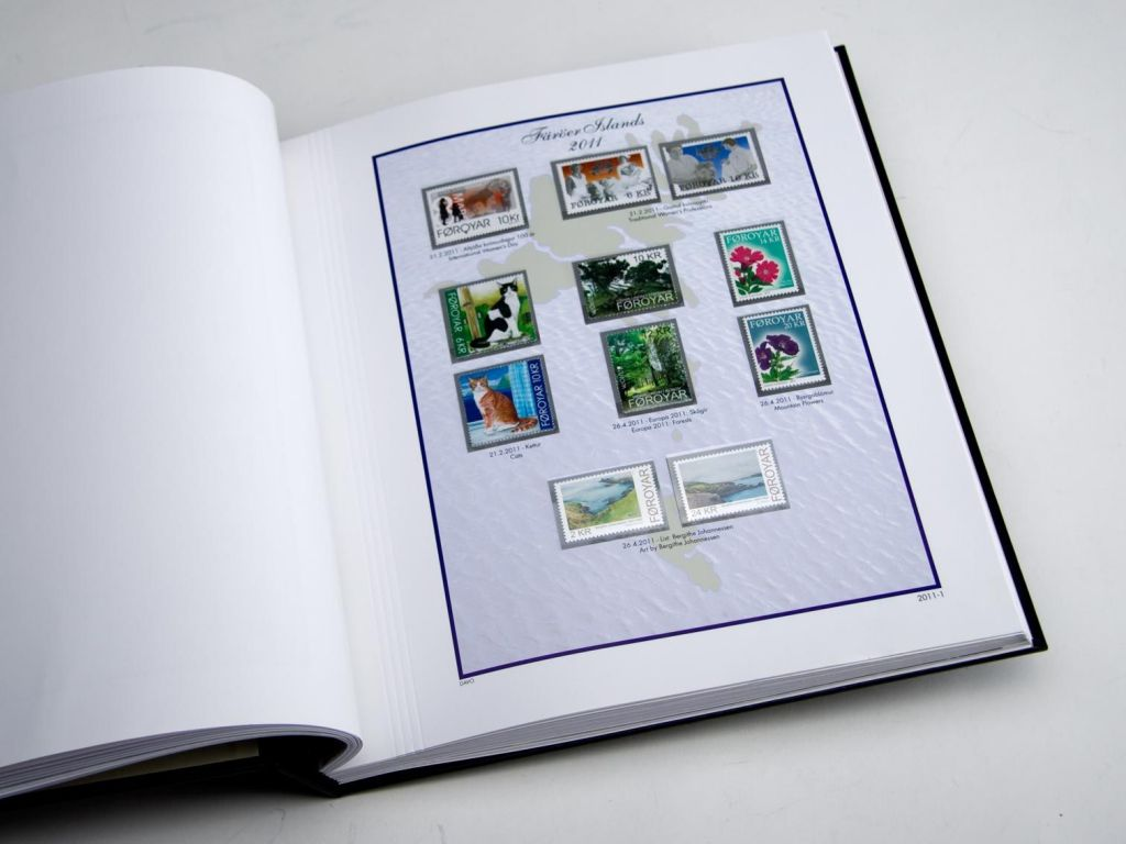 Jeu Luxe Féroe (inclus carnets) 2011