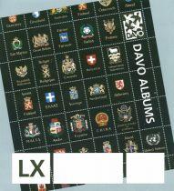 Jeu Luxe France 1995 avec pochettes pour Timbres DAVO