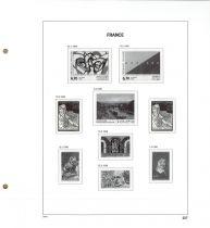 Jeu Luxe France 1996 avec pochettes pour Timbres DAVO