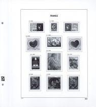 Jeu Luxe France 1999 (1a) pour Timbres DAVO