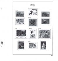 Jeu Luxe France 2001 (14) pour Timbres DAVO