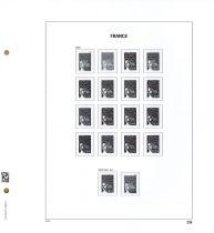 Jeu Luxe France 2002 (1a) avec pochettes pour Timbres DAVO