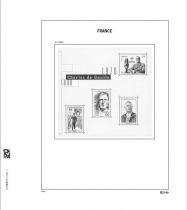 Jeu Luxe France Bloc Charles de Gaulle (1g) 2020/2 pour Timbres DAVO