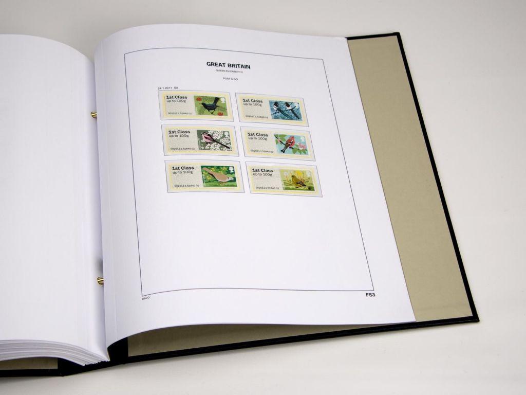 Jeu Luxe Grande-Bretagne Fast Stamps 2012