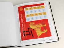 Jeu Luxe Uno Personalized Stamps 2014 pour Timbres DAVO