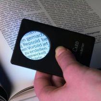 Loupe carte de crédit x3