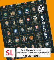 Malte 2015 Feuilles Annuelles Regular pour Timbres DAVO