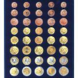 Médaillier Nova Standard pour 5 séries d\'Euro 1 cent à 2 € SAFE