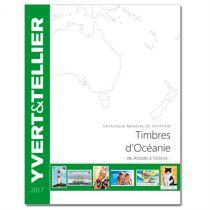 Océanie 2017 Yvert et Tellier Cotation de Timbres