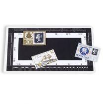 Odontomètre en plastique pour timbres