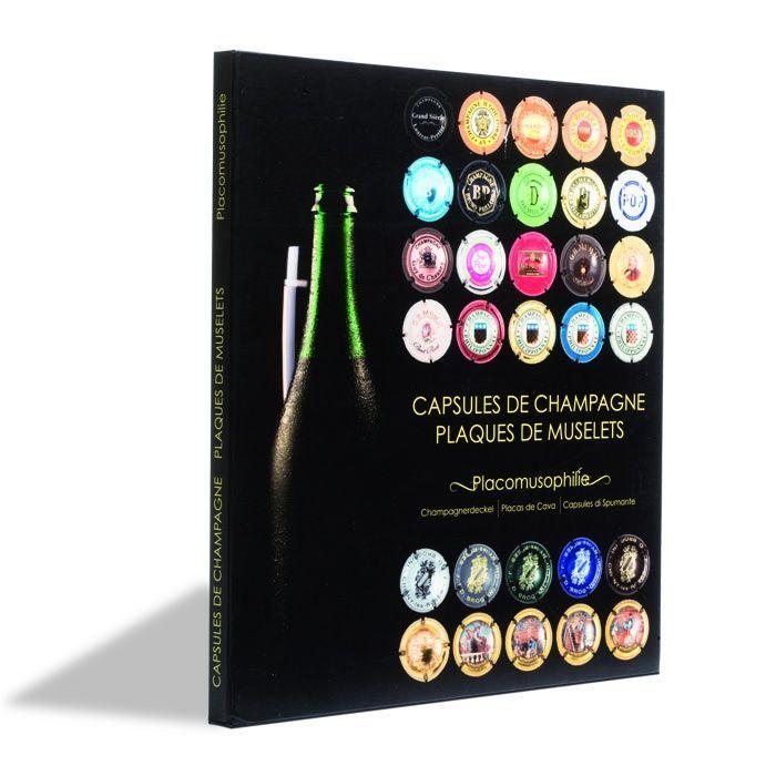 Présentoir PRESSO pour 64 plaques de muselet de Champagne