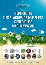 Répertoire Lambert des plaques de muselets génériques de Champagne édition 2017