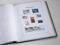 Saint Pierre et Miquelon 2016 Feuilles Annuelles Luxe pour Timbres DAVO