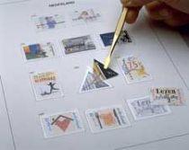 Texte Luxe Pays-Bas S Timbres découpés de carnets