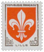 Timbre 1230 France 1960