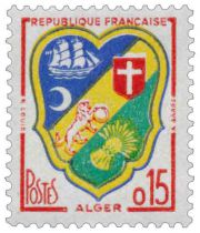 Timbre 1232 France 1960
