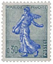 Timbre 1234A France 1960