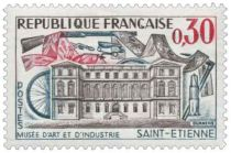 Timbre 1243 France 1960