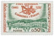 Timbre 1244 France 1960