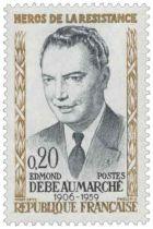 Timbre 1248 à 1252 France 1960