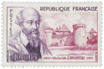 Timbre 1257 à 1262 France 1960