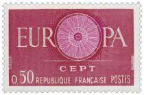 Timbre 1266 à 1267 France 1960