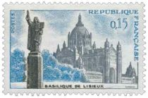 Timbre 1268 France 1960