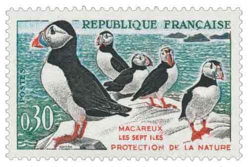 Timbre 1273 à 1276 France 1960