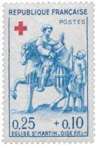 Timbre 1278 et 1279 France 1960