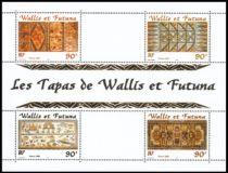 Timbre Bloc 10 Wallis et Futuna 2001