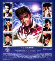 Timbres Elvis Presley 1997 Micronésie