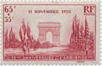 Timbres France Année Complète 1938