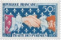 Timbres France Année Complète 1959