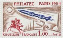 Timbres France Année Complète 1964