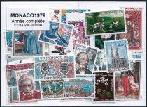 Timbres Monaco Année Complète 1979