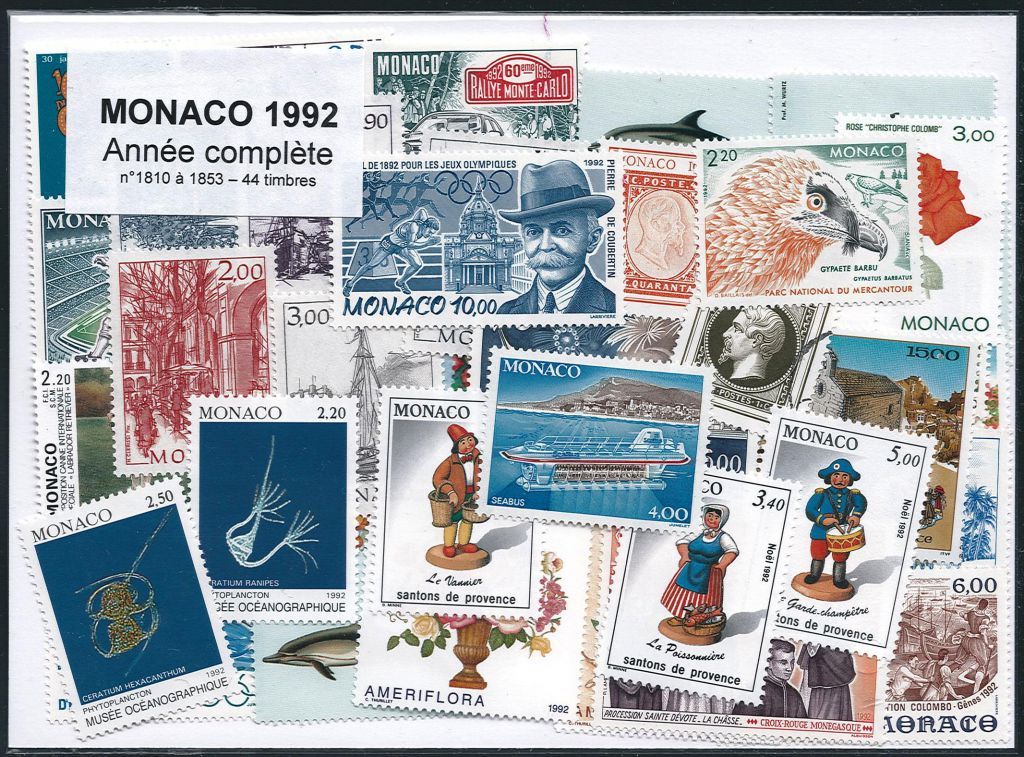 Europe Andorre Annee Complete 1989 ** Timbres Neufs Qualite Luxe Stamps