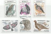 Timbres Oiseaux MONACO