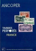 Timbres Perforés de France Ancoper 4ème édition