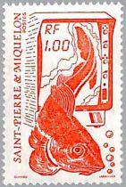 Timbres Saint Pierre et Miquelon 1986 2 valeurs
