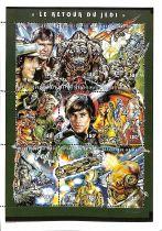 Timbres Star wars Le Retour du Jedi 1997 Mali